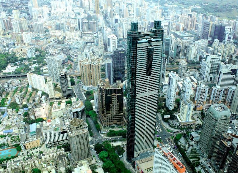 Ciudad de Shenzhen, China foto de archivo