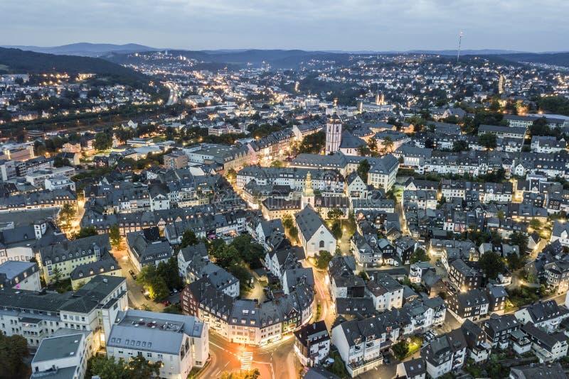 Ciudad de Siegen, Alemania foto de archivo libre de regalías