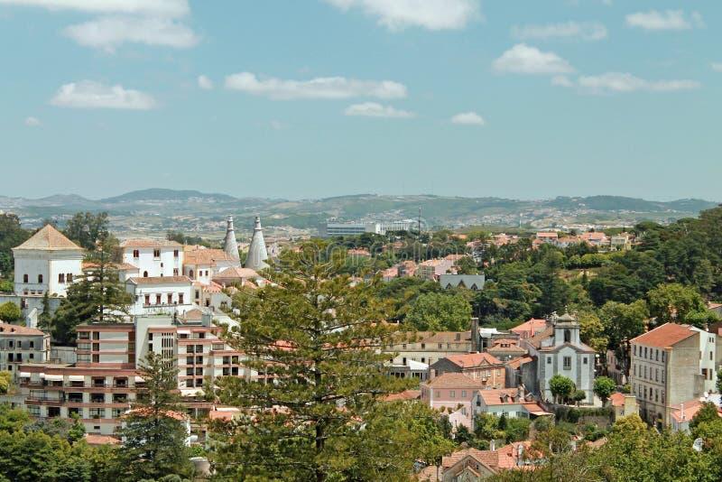 Ciudad de Sintra, Portugal fotos de archivo