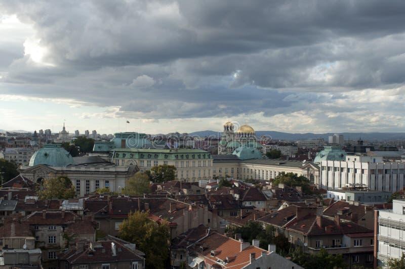 Ciudad de Sofía fotos de archivo