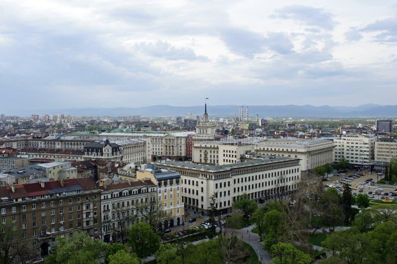 Ciudad de Sofía imagen de archivo