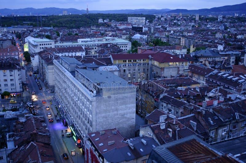 Ciudad de Sofía imagen de archivo libre de regalías