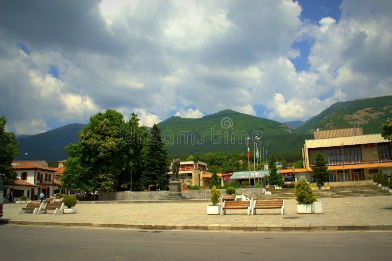 Ciudad de Sopot, Bulgaria foto de archivo libre de regalías