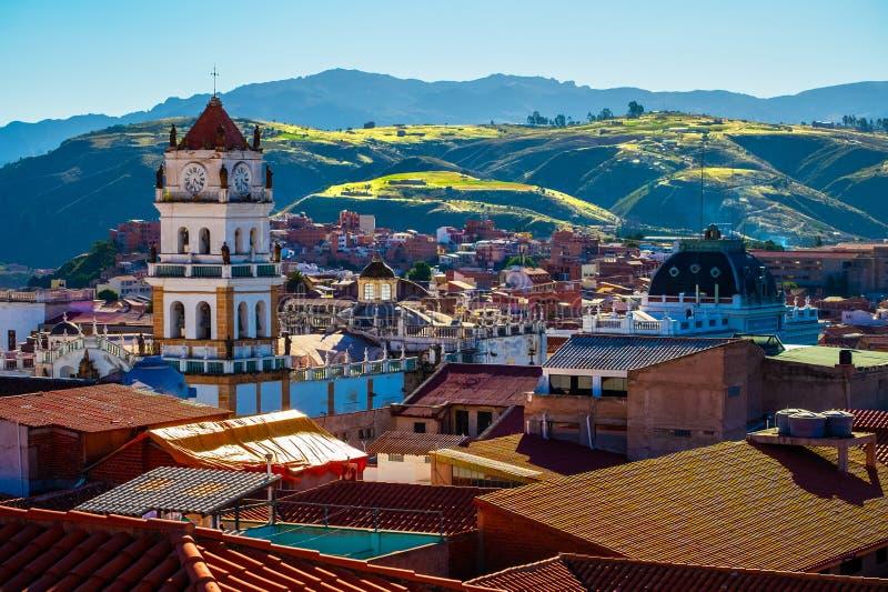 Ciudad de Sucre foto de archivo