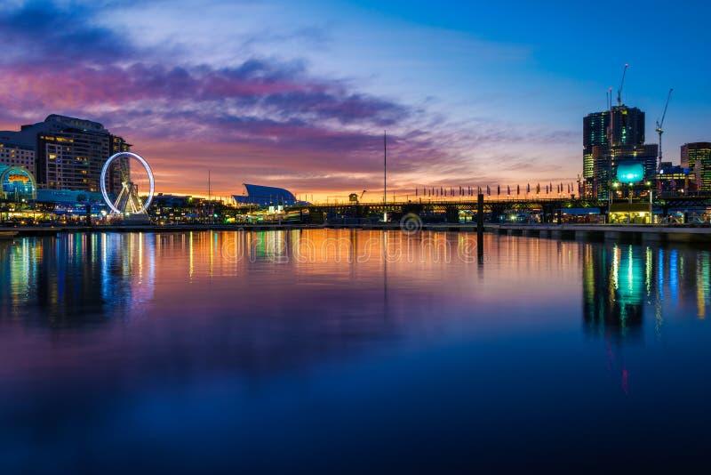 Ciudad de Sydney del puerto querido imágenes de archivo libres de regalías