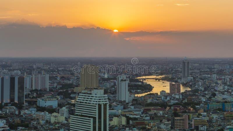 Ciudad de Tailandia fotografía de archivo libre de regalías
