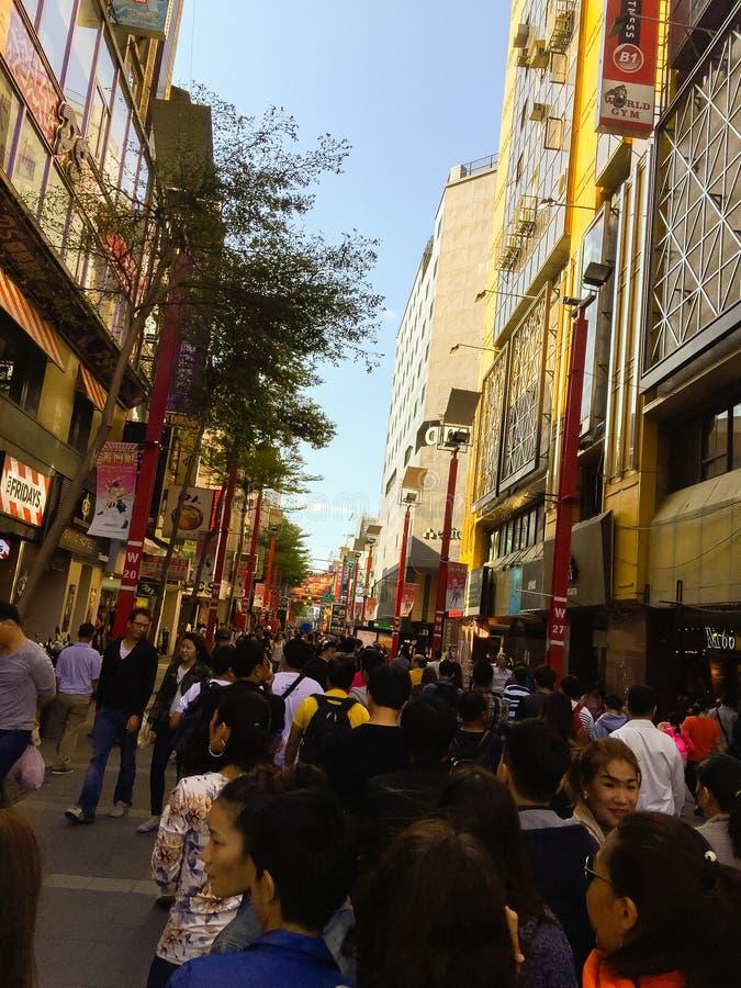 Ciudad de Taipei, Taiwán - 22 de noviembre de 2016: Ximending es la fuente imagenes de archivo