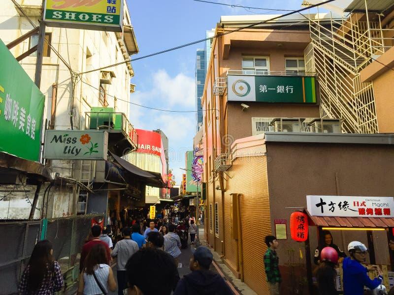 Ciudad de Taipei, Taiwán - 22 de noviembre de 2016: Ximending es la fuente fotografía de archivo