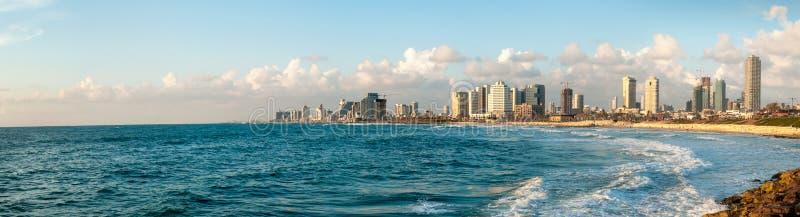 Ciudad de Tel Aviv imagen de archivo