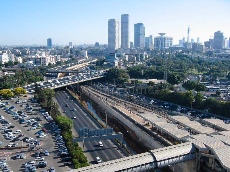 Ciudad de Tel Aviv fotografía de archivo libre de regalías