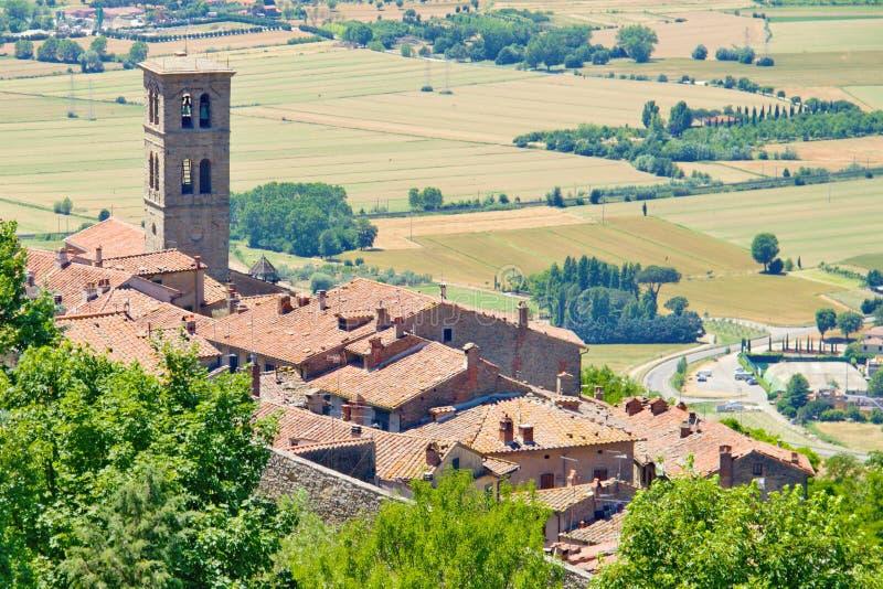 Ciudad de Toscana foto de archivo libre de regalías