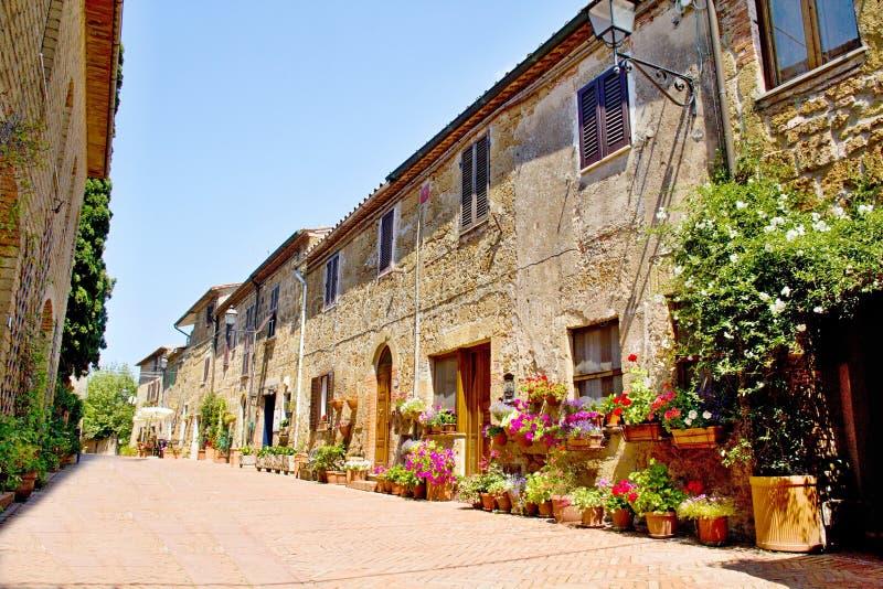 Ciudad de Toscana foto de archivo