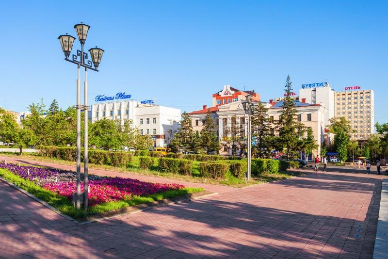 Ciudad de Ulán Udé en Rusia fotografía de archivo libre de regalías