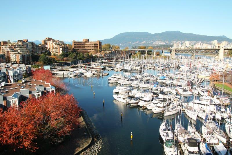 Ciudad de Vancouver imagen de archivo libre de regalías