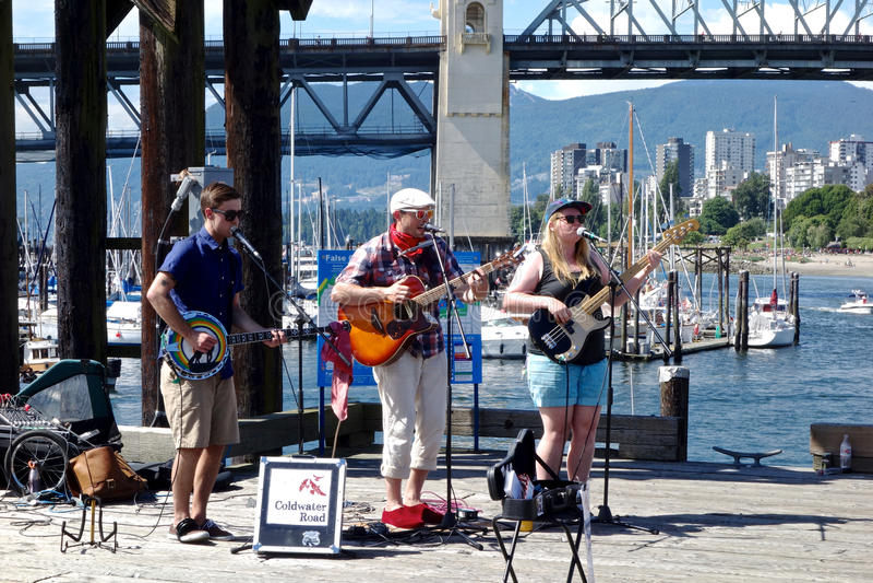 Ciudad de Vancouver, Canadá fotografía de archivo libre de regalías