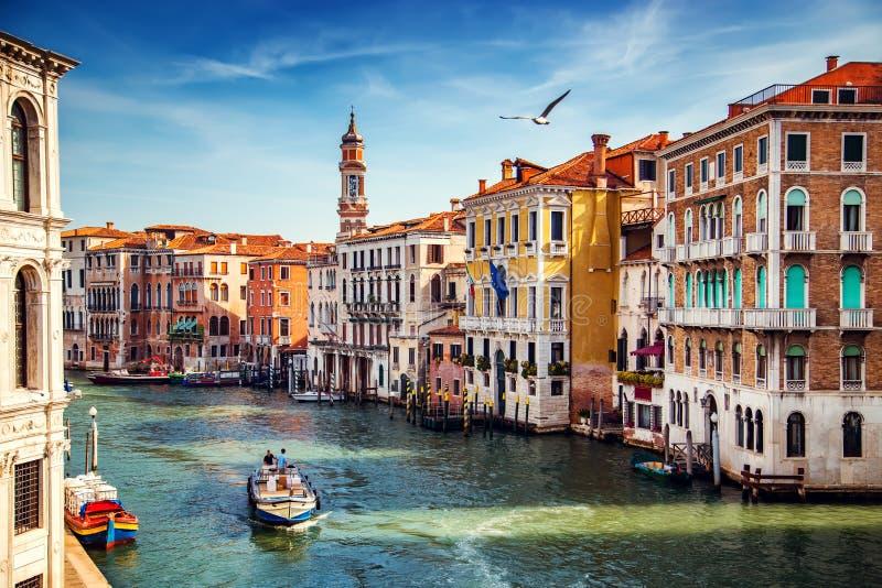 Ciudad de Venecia en el verano Italia, Europa fotografía de archivo libre de regalías