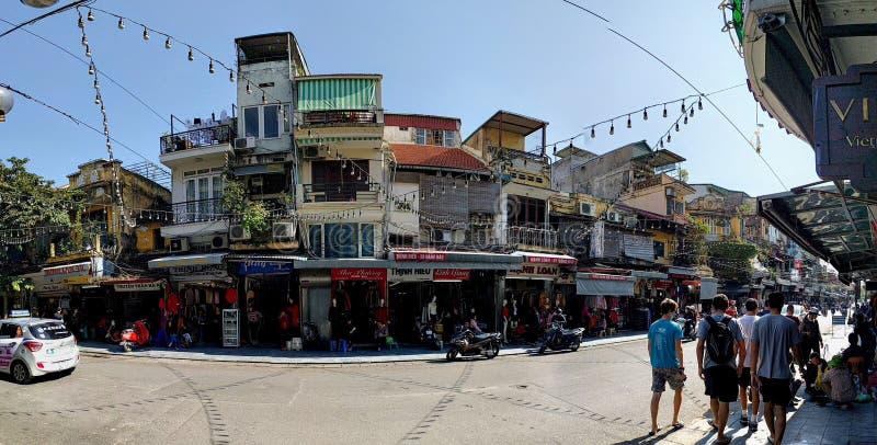 ciudad de Vietnam Hanoi foto de archivo libre de regalías