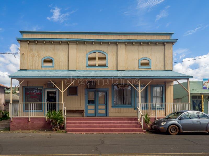 Ciudad de Waimea, Kauai fotos de archivo libres de regalías