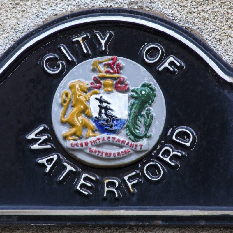 Ciudad de Waterford en Irlanda imágenes de archivo libres de regalías