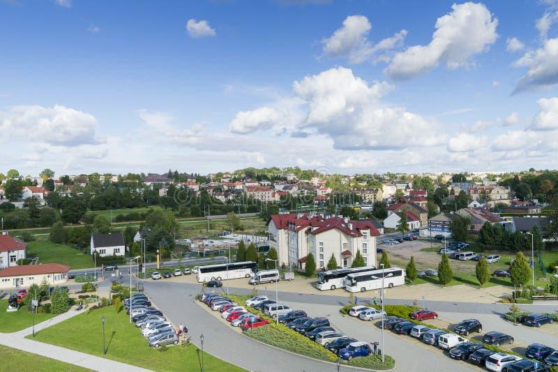 Ciudad de Wieliczka en Polonia imagen de archivo libre de regalías