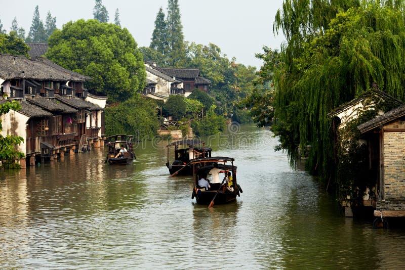 Ciudad de Wuzhen foto de archivo