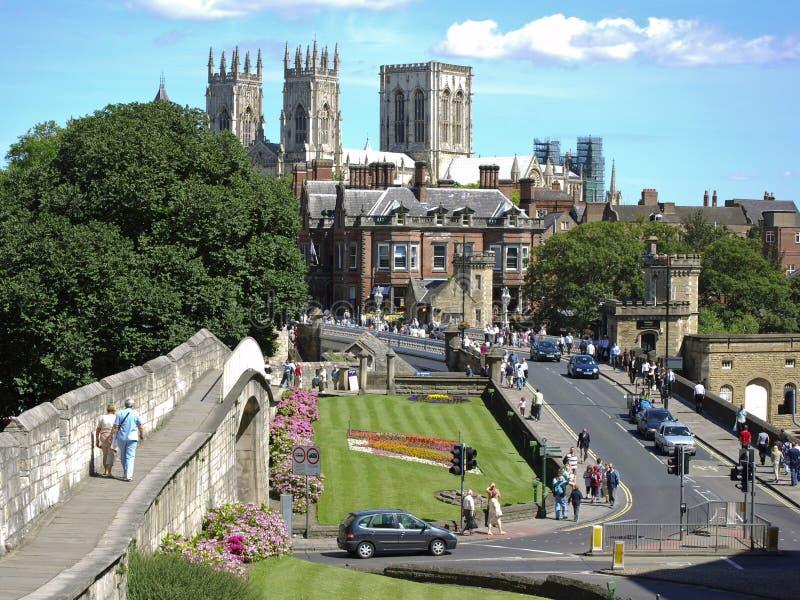 Ciudad de York foto de archivo