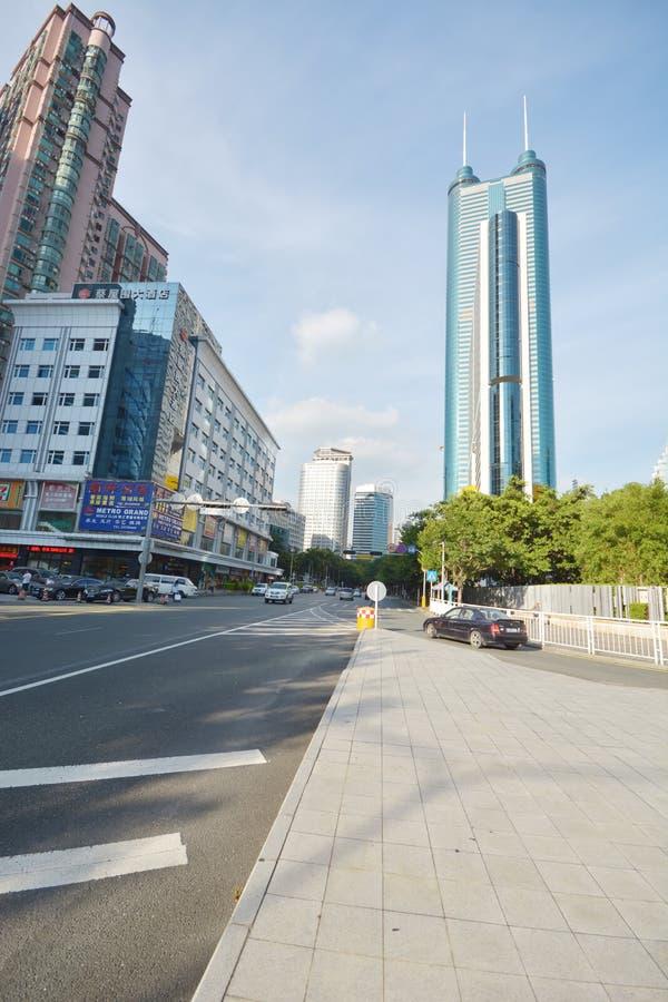Ciudad del ¼ Œ Shenzhen del mansionï de Diwang fotos de archivo libres de regalías