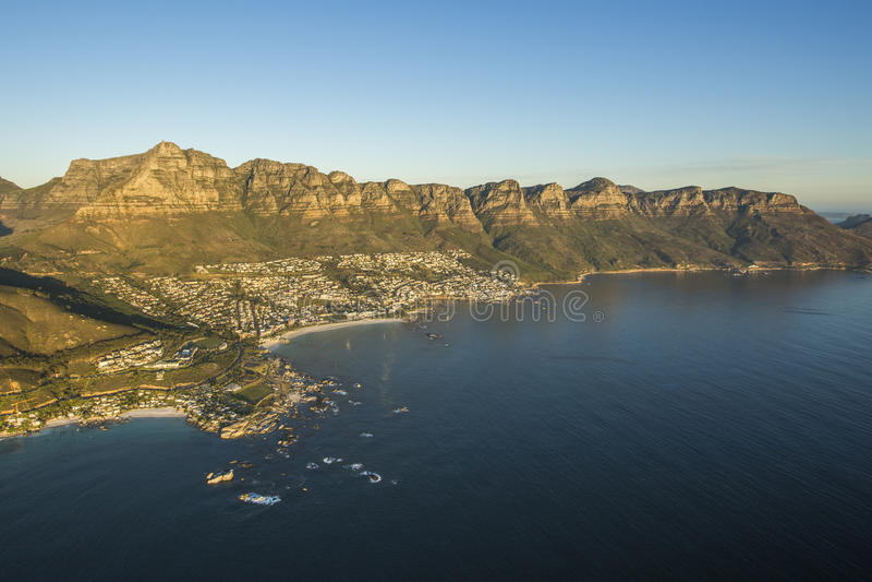 Ciudad del Cabo Campsbay Suráfrica foto de archivo libre de regalías