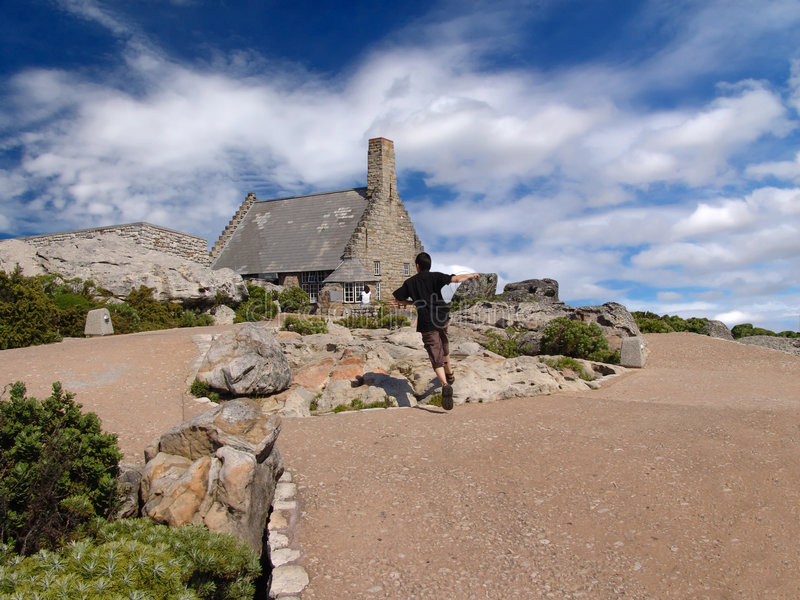 Ciudad del Cabo, Mountain View del vector imágenes de archivo libres de regalías