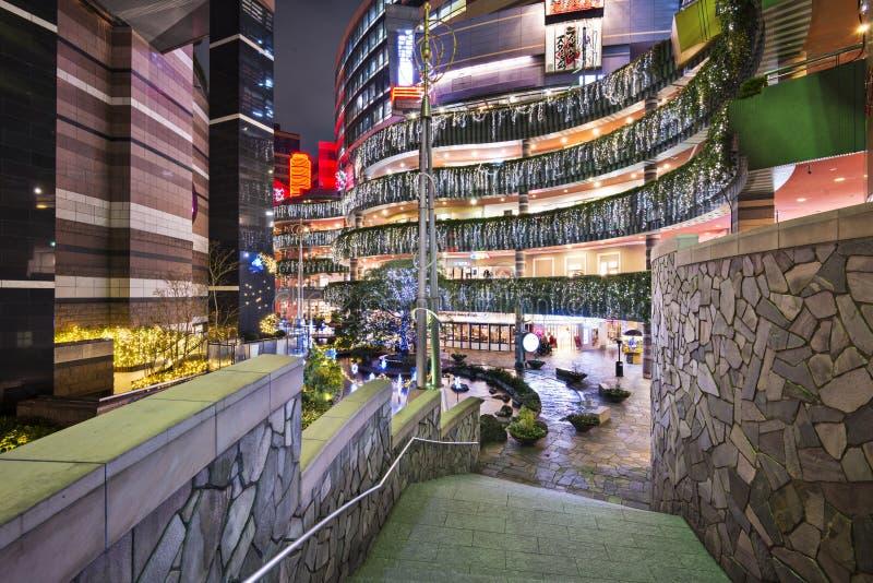 Ciudad del canal, Fukuoka, Japón imágenes de archivo libres de regalías
