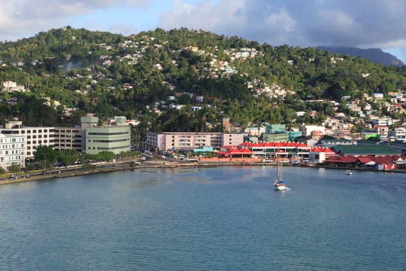 Ciudad del Caribe foto de archivo