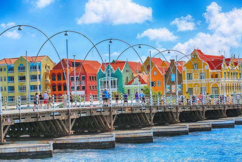 Ciudad del Caribe colorida foto de archivo libre de regalías