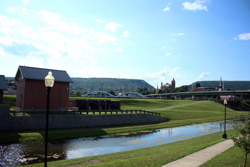 Ciudad del Cumberland, Maryland fotografía de archivo libre de regalías
