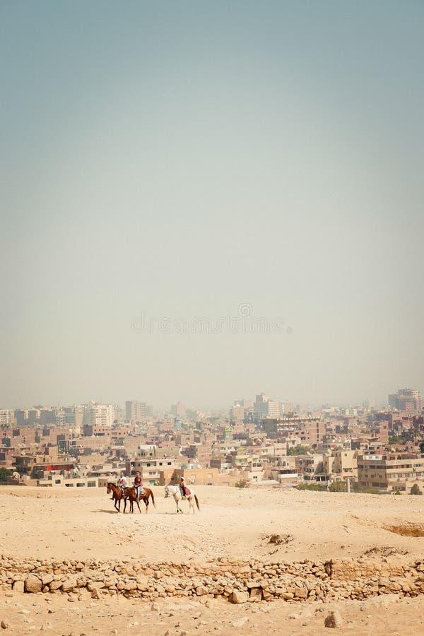 Ciudad del desierto foto de archivo libre de regalías