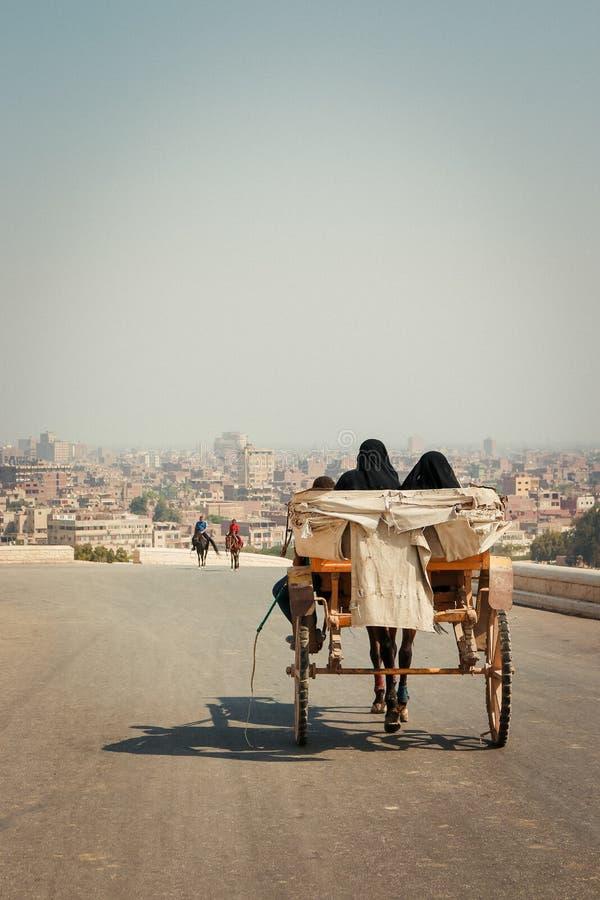 Ciudad del desierto Camino fotografía de archivo libre de regalías