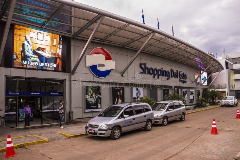 Ciudad del Este - Paraguai imagem de stock royalty free