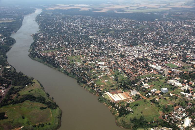 Ciudad del Este, Paraguay photos libres de droits