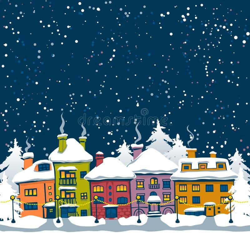 Ciudad del invierno libre illustration