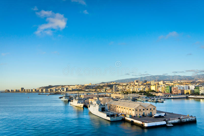 Ciudad del Las Palmas, Gran Canaria, España foto de archivo