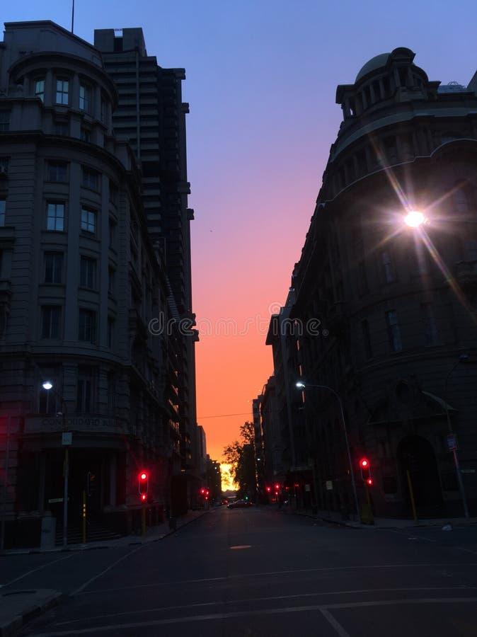 Ciudad del oro foto de archivo libre de regalías