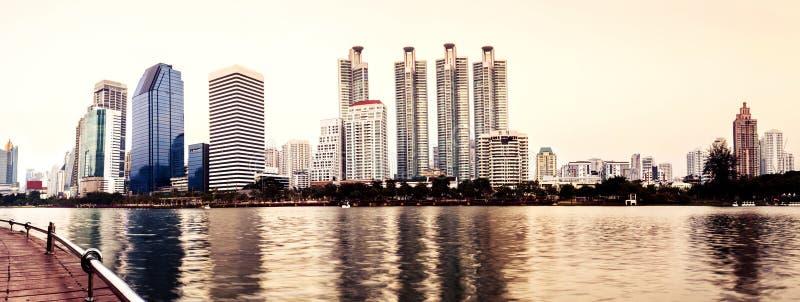 Ciudad del panorama foto de archivo