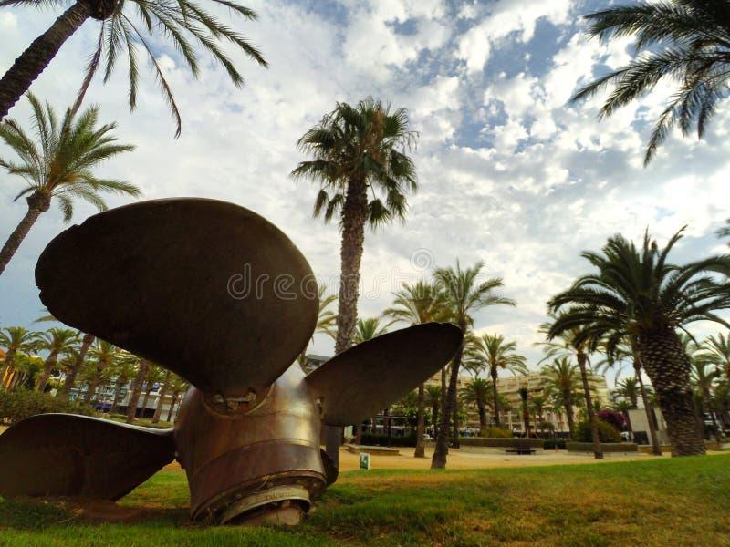 Ciudad del puerto fotografía de archivo