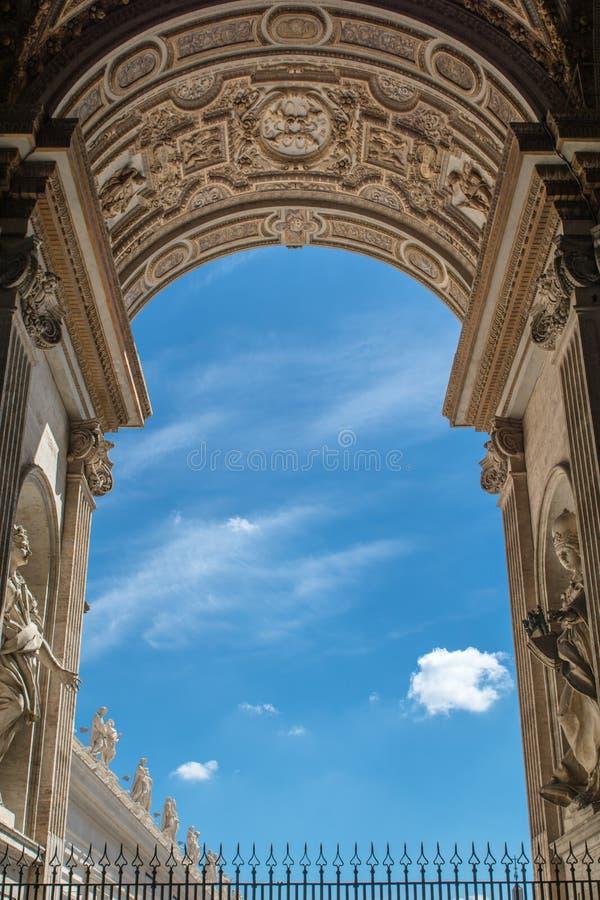 Ciudad del Vaticano foto de archivo libre de regalías