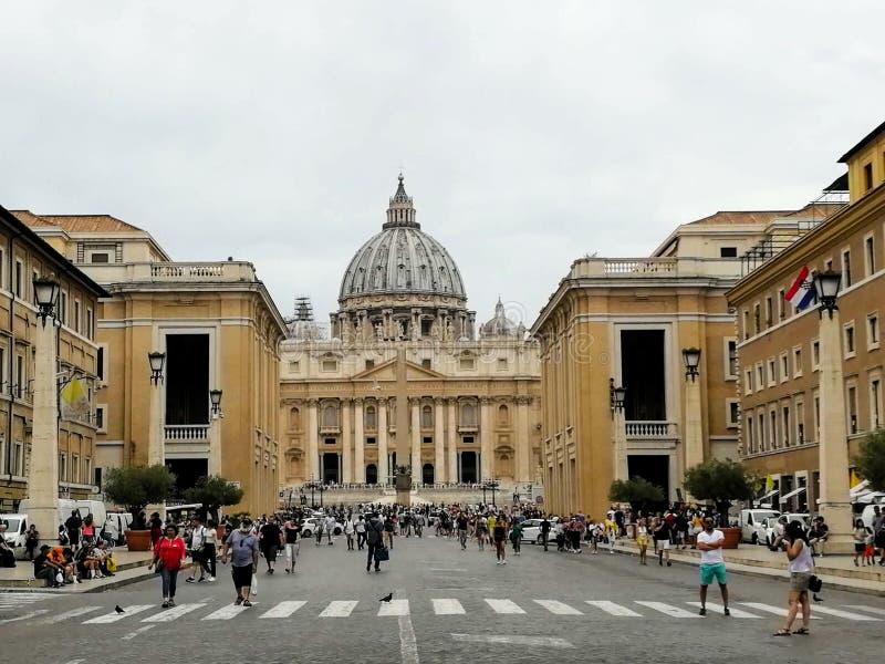 Ciudad del Vaticano, Roma, ST Basílica del ` s de Peter fotos de archivo