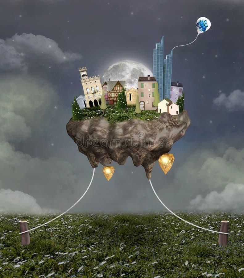 Ciudad del vuelo libre illustration