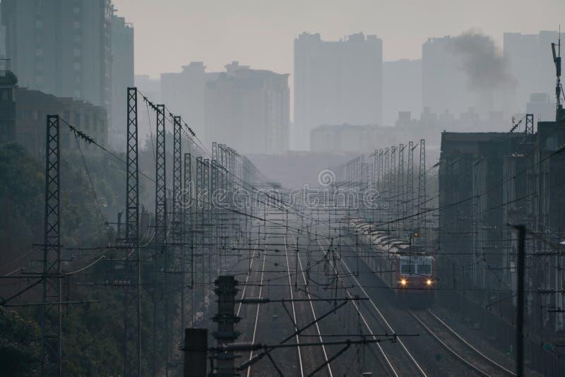 Ciudad en China foto de archivo libre de regalías