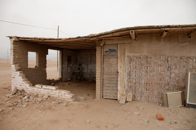 Ciudad en el desierto imagen de archivo libre de regalías