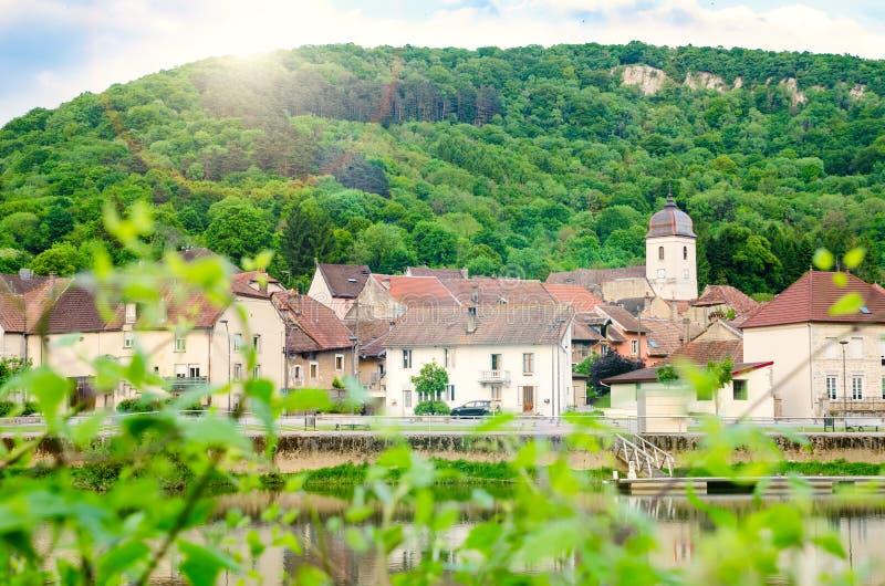 Ciudad en Francia fotos de archivo