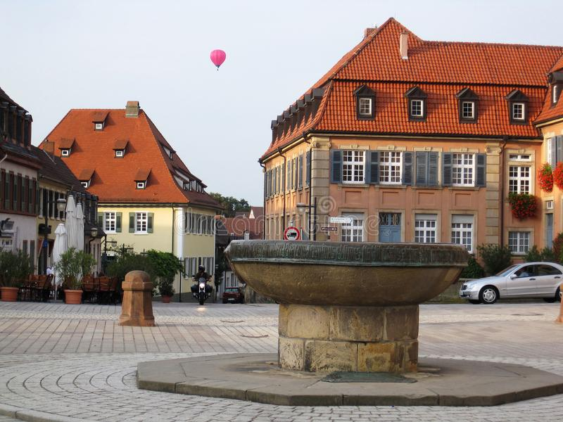 Ciudad en Germani fotografía de archivo libre de regalías