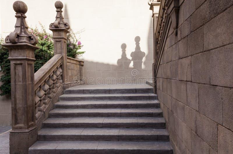 Ciudad española (Poble Espanyol) - museo arquitectónico debajo del cielo abierto imagen de archivo libre de regalías